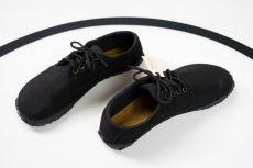 Barefoot Ahinsa shoes Sunbrella® černá bosá