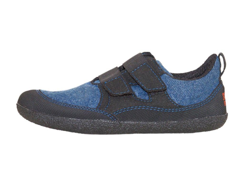 Barefoot Sole runner Puck modrá bosá