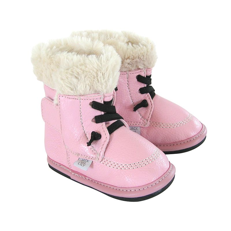 Barefoot Jack and Lily Willow pink bosá