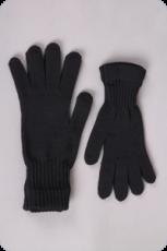 Surtex rukavice tmavé 100% merinové vlny silné