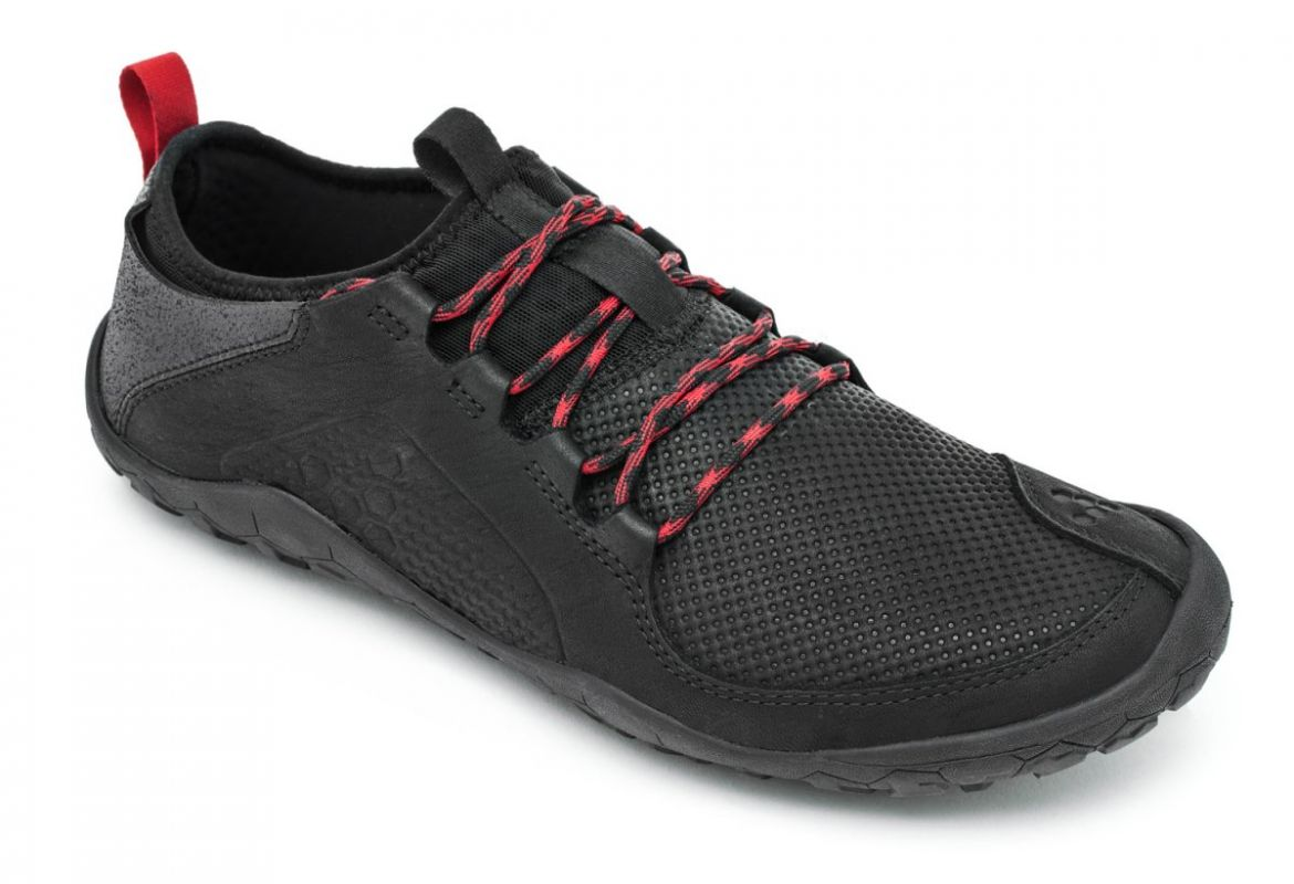 Barefoot Vivobarefoot PRIMUS TREK L Leather Black bosá