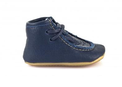 Barefoot Froddo Prewalkers zimní tkaničky modré bosá
