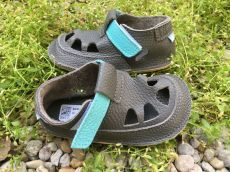 Baby bare shoes Sandálky Blue Beetle SUMMER PERFORATION