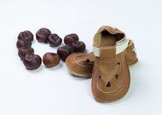 Baby bare shoes Sandálky / papučky IO Bear TS (širší)