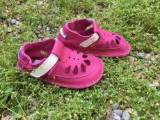 Baby bare shoes Sandálky Waterlily SUMMER PERFORATION
