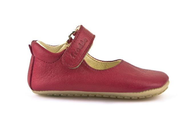 Barefoot Froddo prewalkers balerínky červené bosá