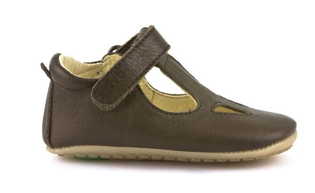 Barefoot Froddo prewalkers sandálky hnědé -tmavě hnědé bosá
