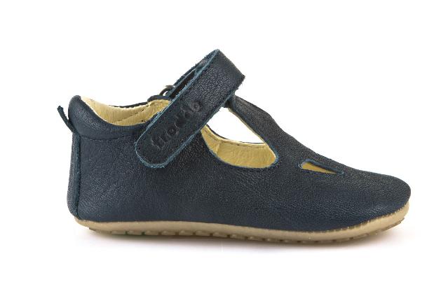 Barefoot Froddo prewalkers sandálky - tmavě modré bosá