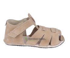 Ortoplus barefoot sandálky D201 pískové