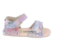 Ortoplus barefoot sandálky D203 květinové