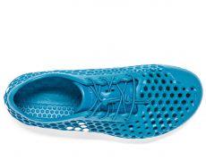 Barefoot Vivobarefoot ULTRA 3 L Petrol Blue Vap Grey Bloom bosá