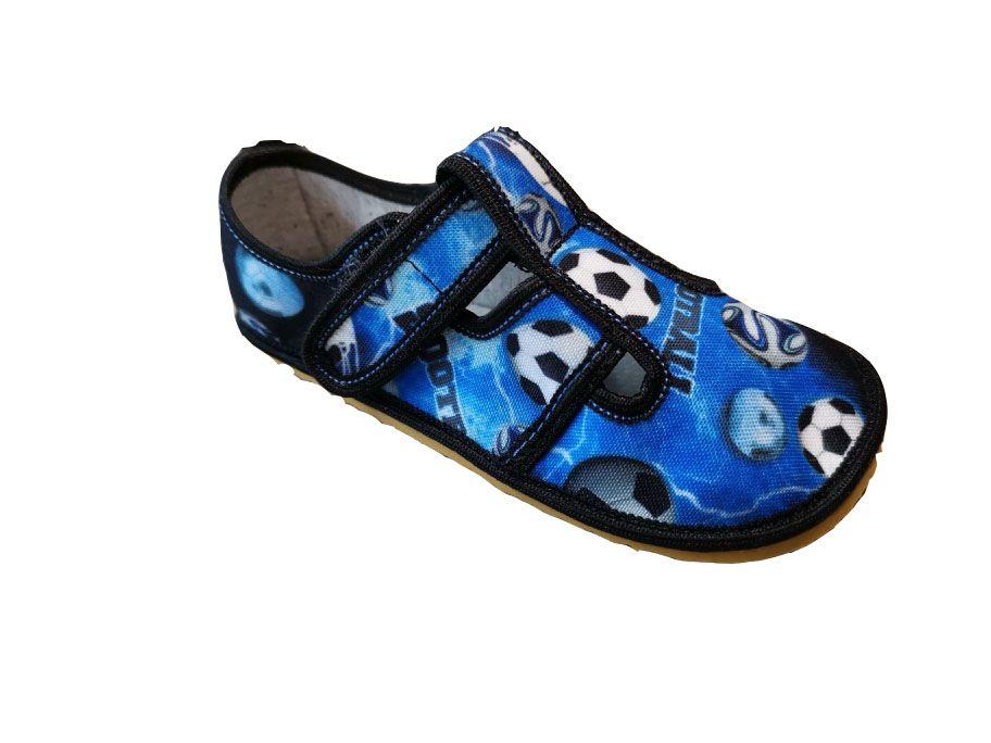 Barefoot Anatomic papučky SOCCER B bosá
