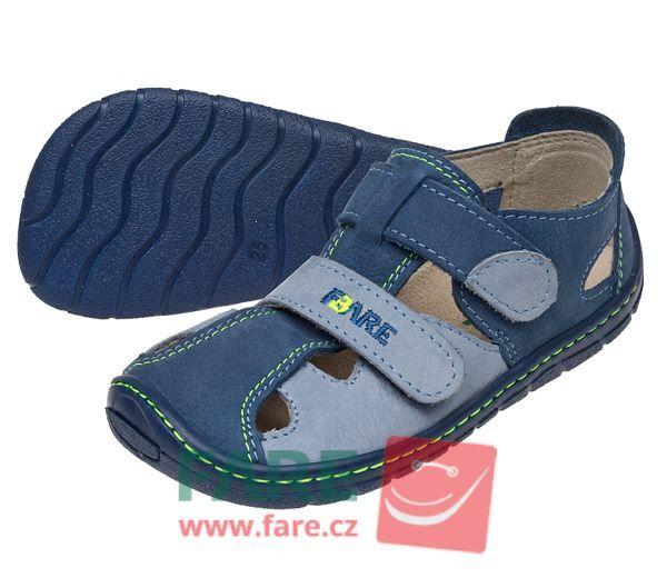Barefoot FARE BARE dětské letní boty 5161201 bosá