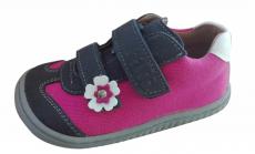 Filii leguan velcro velours/textile ocean/pink W