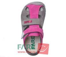 Barefoot FARE BARE dětské letní boty 5161291 bosá
