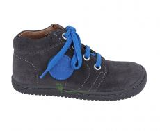 Filii barefoot - Gecko velours graphit laces M