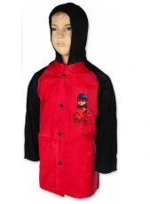 Setino Dívčí pláštěnka LADY BUG -červená