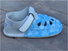 Baby bare shoes Sandálky / papučky IO Snowflakes TS | 25, 26