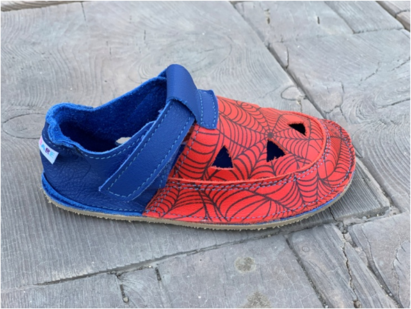 Barefoot Baby bare shoes Sandálky/ papučky IO Spider TS bosá