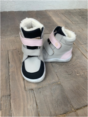 BABY BARE WINTER Grey/pink  OKOP ASFALTICO