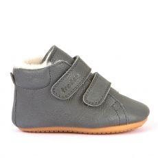 Barefoot boty Froddo Prewalkers zimní grey sheepskin