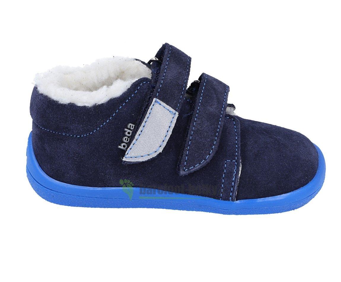 Barefoot Beda Barefoot - Daniel zimní boty s membránou bosá