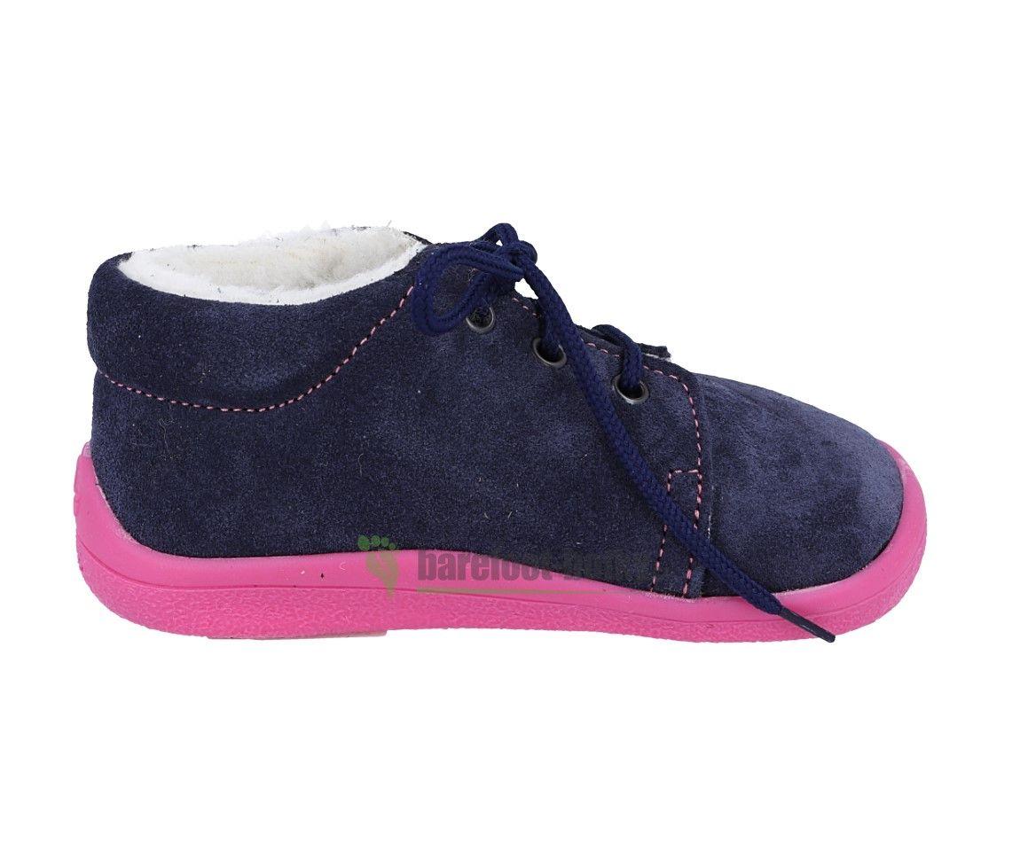 Barefoot Beda Barefoot - Elisha zimní boty s membránou - tkaničky bosá