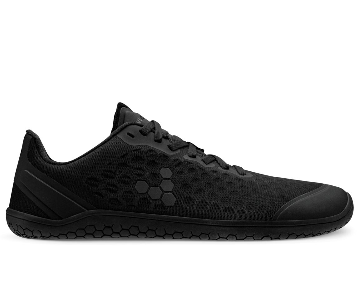 Barefoot Vivobarefoot STEALTH III L OBSIDIAN BLACK TEXTILE bosá