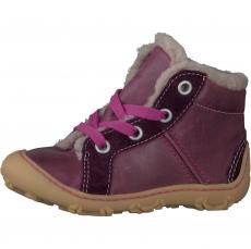 Zimní barefoot boty RICOSTA Elia merlot 15302-380