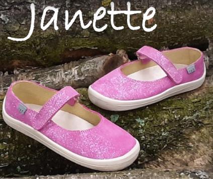 Barefoot Beda Barefoot baleriny Janette bosá