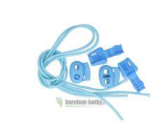 Elastičké tkaničky Easy tie světle modré