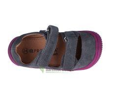 Barefoot Protetika barefoot sandálky Berg grey bosá