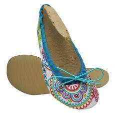Wins cvičky Gábi - textilní mandala