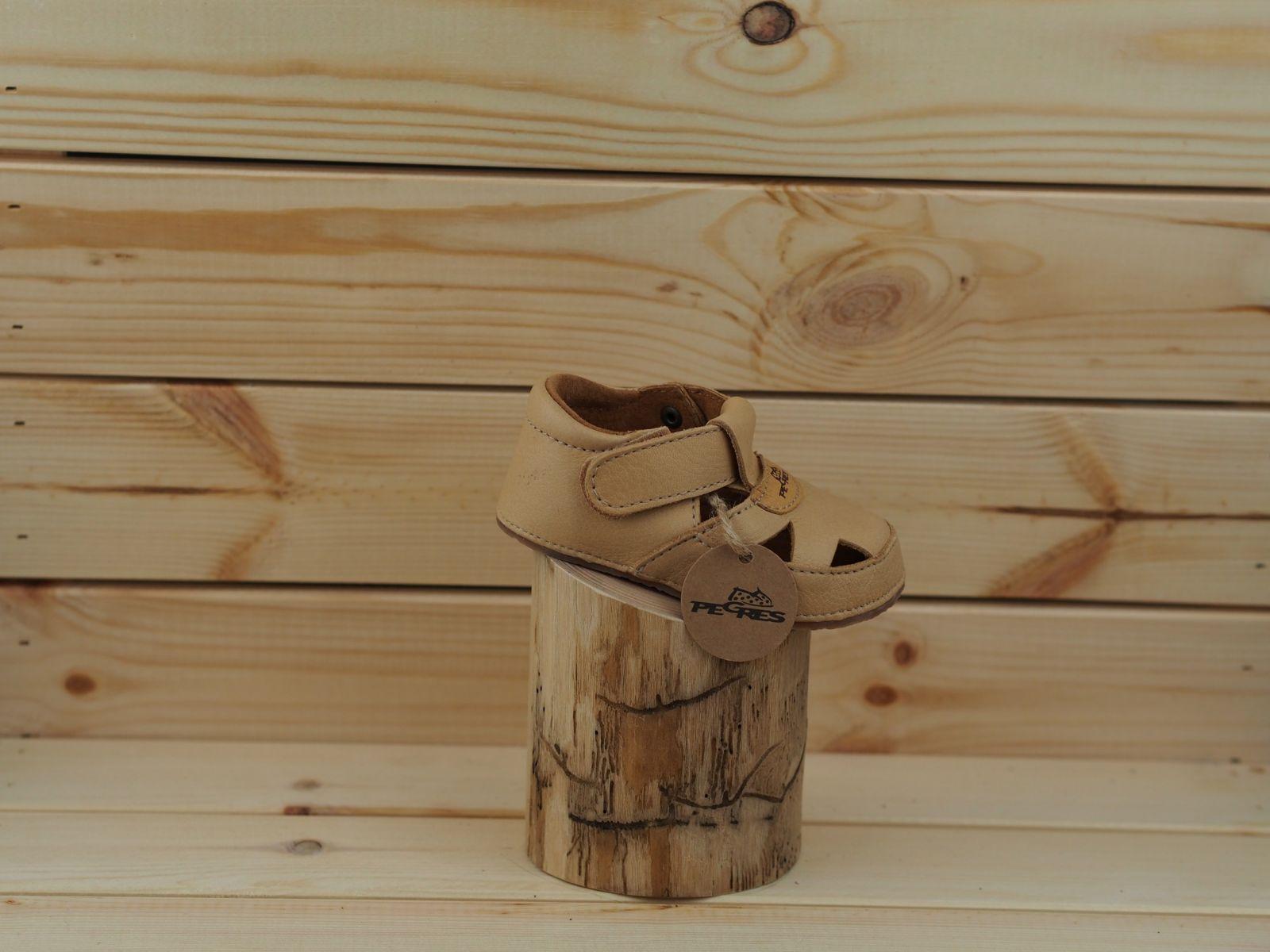 Barefoot Bosé Pegresky sandály 1096 béžová bosá