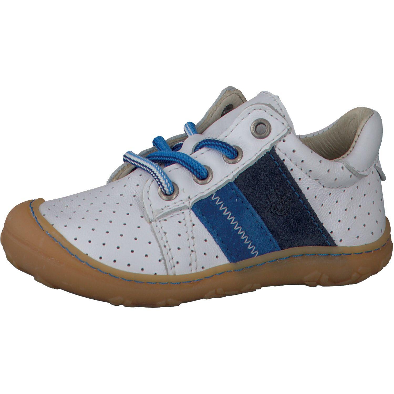 Barefoot Celoroční barefoot boty RICOSTA Rocky weis/azur 12227-811 bosá