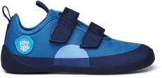 Dětské barefoot botičky Affenzahn Cotton Sneaker Bear