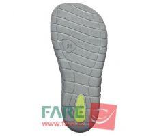 Barefoot FARE BARE dětské letní boty 5261252 bosá