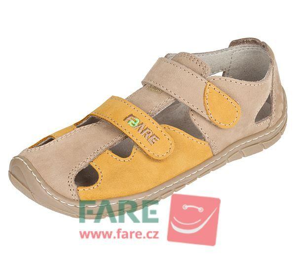 Barefoot FARE BARE dětské letní boty 5261281 bosá