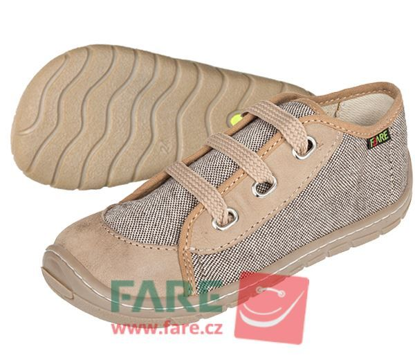 Barefoot FARE BARE DĚTSKÉ TENISKY 5115481 bosá