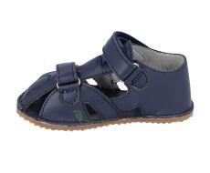 Barefoot Protetika Zero navy - kožené barefoot sandálky bosá