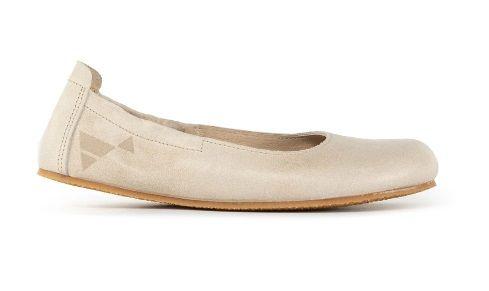 Barefoot Angles Balerínky HARMONIA béžová Angles Fashion bosá