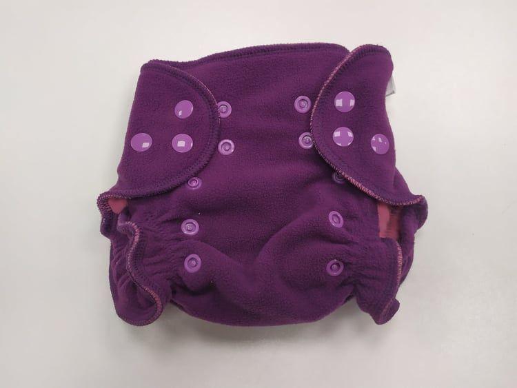 Barefoot BREBERKY - Svrchní kalhotky fleece S - patenty bosá