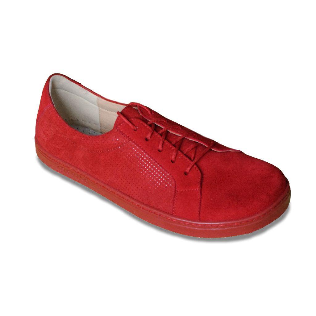 Barefoot Peerko 2.0 kožené boty - Classic Red bosá