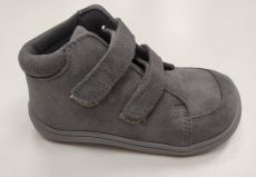 Baby bare shoes Febo Fall Grey Velour