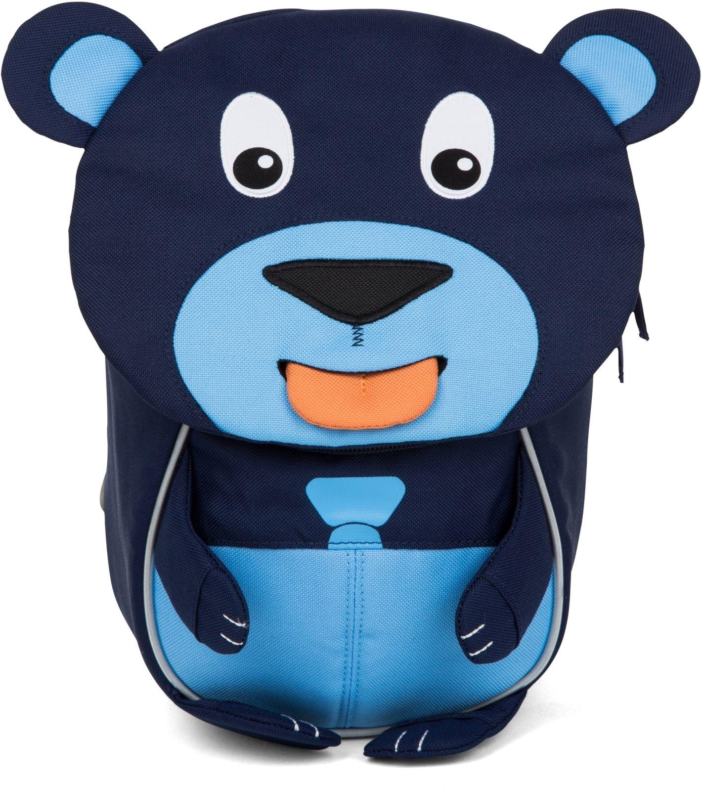 Barefoot Batůžek pro nejmenší Affenzahn Bobo Bear - blue bosá