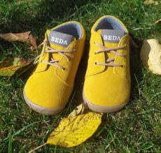 Beda Barefoot Mauro - celoroční boty s membránou - tkaničky