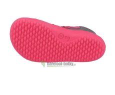 Barefoot Dětské barefoot boty Be Lenka Play - Bublegum bosá