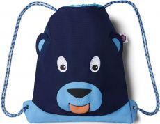 Dětský batůžek Affenzahn Kids Sportsbag Bear - blue
