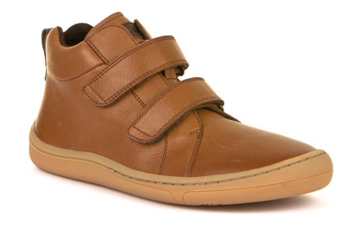 Froddo barefoot členkové topánky Cognac