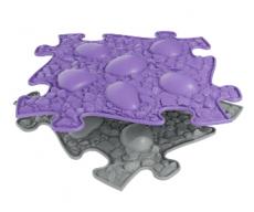 Ortopedická Podlaha MUFFIK puzzle Dino vejce tvrdé | fialové, šedé